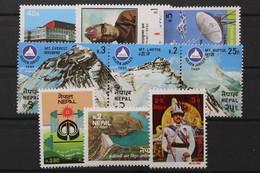 Nepal, MiNr. 417-425, Jahrgang 1982, Postfrisch / MNH - Nepal