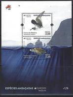 PORTUGAL Madeira - EUROPA 2021 - Endangered National Wildlife Critical Meetings - Souvenir Sheet - Other