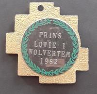 Wolvertem Kenteken Prins Carnaval Lowie I (Louis Van Doorslaer Van De Masdagarage In Meuzegem), 1982 - Ironwork
