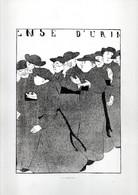 Gravure Illustration Du 19 ° Siècle - Plusieurs Curés - En Promenade .( Voir  Ense D'urin ? ) - Other