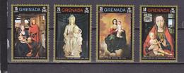 GRENADE 408/411 NOEL CHRISTMAS   LUXE NEUF SANS CHARNIERE MNH - Grenada (1974-...)