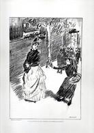 Gravure Illustration Du 19 ° Siècle De Forain - Si Je N'avais Pas Mal Tourné. J'en Vendrais Encore - Other