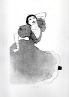 Gravure Illustration Du 19 ° Sciècle -  La Belle Otero - Other