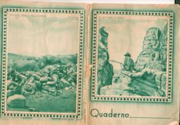 Roma-centocelle -quaderno Fascista- Collegio S. Giuseppe1932 Borgata Prenestina-tessera Buoni Pasta .pane .latte-21X15 - - Zonder Classificatie