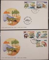 FDC Vietnam Viet Nam Cover 1996 : Prehistoric Animals / Dinosaur (Ms726) - Vietnam
