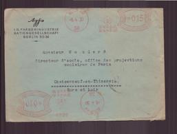 """Allemagne, Enveloppe à En-tête """" Agfa """" Du 5 Avril 1930 De Berlin Pour Châteauneuf-en-Thimerais - Unclassified"""
