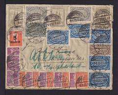 9.9.1923 - Dekorative Stufenfrankatur Auf Brief Ab Breifenhagen Nach Berlin - Covers & Documents
