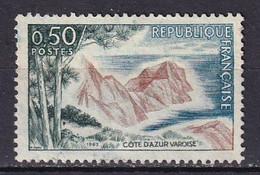 FRANCE - Côte D'Azur Varoise Avec Rochers Bleutés TTB - Abarten: 1960-69 Ungebraucht