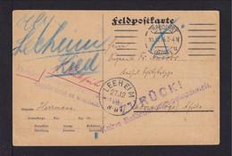 """15.12.1914 - Feldpostkarte Ab Frankfurt Nach Lome - Stempel """"ZURÜCK! Keine Beförderungsmöglichkeit"""" - Colonie: Togo"""
