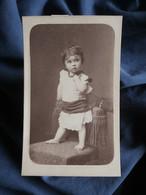 Photo CDV Sans Le Support Carton - Jeune Enfant (Denise Royer 1883-1904) Vers 1885 L550-10 - Old (before 1900)