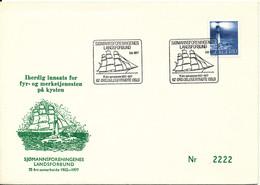 Norway Cover Sjömannsforeningens Landsforbund Oslo 3-6-1977 Nice Cover With Cachet And Lighthouse Stamp - Briefe U. Dokumente