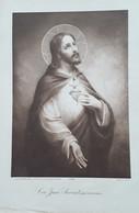 Cor Jesu Sacratissimum - Estampes & Gravures