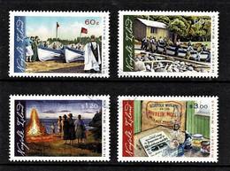 Norfolk Island 2010 History Of Whaling Set Of 4 Used - Ile Norfolk