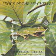 SEYCHELLES - BLOC N°43 ** (2003) Grenouilles - Seychelles (1976-...)