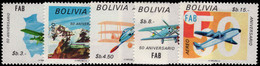 Bolivia 1974 Bolivian Air Force Unmounted Mint. - Bolivia