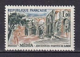 FRANCE - Médéa Avec Monument Ver Au Lieu De Jaune Neuf TTB - Abarten: 1960-69 Ungebraucht