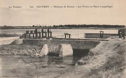Ile-Tudy ( Pêcheries De Kermor Les Viviers Et Parcs à Coquillages ) - Ile Tudy