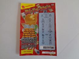 Loterie Lottery Loteria Lotaria Instant Instantânia Raspadinha  Jogo Nº 439 Pé De Meia Portugal - Lottery Tickets