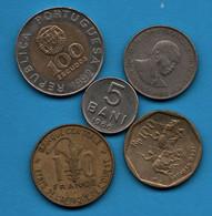 LOT COINS 5 MONNAIES - Alla Rinfusa - Monete