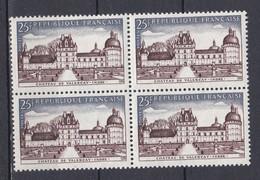 N° 1128 Valençay  Série Touristique Beau Bloc De 4  Timbres Neuf Impeccable Sans Charnière - Ongebruikt