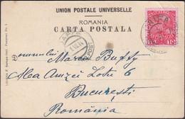 Austria - Austrian Post Offices In The Levant, Palästina, Österreichische Post CAIFA 30.6.14 - JAFFA 1.7.1914 - Romania. - Cartas