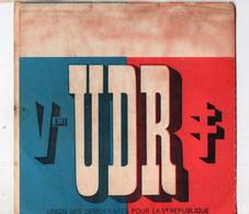 Carte De L'UDR Nominative (PPP28929) - Publicidad
