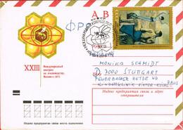URSS. Congrès D'apiculture. Abeilles Miel Alvéoles - Api