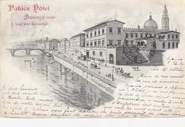 FIRENZE-PALACE HOTEL-CARTOLINA VIAGGIATA IL 27-4-1906 - Firenze (Florence)