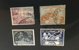 (stamp 15-05-2021) Malaysia Selangor  - 4 Stamps - UPU - Selangor