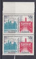 N° 1176 Jumelage Paris-Rome: Belle Paire De 2 Timbres Neuf Impeccable Sans Charnière - Ohne Zuordnung