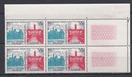 N° 1176 Jumelage Paris-Rome: Beau Bloc De 4 Timbres Neuf Impeccable Sans Charnière - Ohne Zuordnung