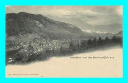 A937 / 317 Suisse INTERLAKEN Von Der Heimwehflush Aus - BE Berne