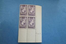 TP France Coin Daté Sans Charnière N° 338 - 1930-1939