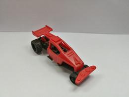 Kinder :  Dragster Mit Federung 1988 - Dragster Mit Nummer 4 Rouge - Inzetting