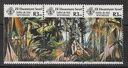 SEYCHELLES Zil Elwannyen Sesel - N°163/5 ** (1987) Tourisme - Seychelles (1976-...)