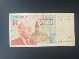 MAROC 20 DIRHAMS 1996 - Marokko