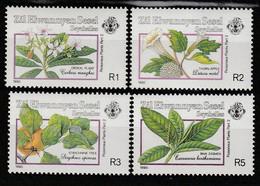 SEYCHELLES Zil Elwannyen Sesel - N°200/3 ** (1990) Plantes Vénéneuses - Seychelles (1976-...)
