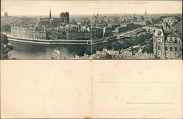 CPA Paris Panorama-Ansicht 2-teilige Klappkarte Panoramakarte 1910 - Sin Clasificación