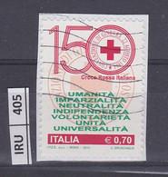 ITALIA REPUBBLICA         2014Coce Rossa Usato - 2011-...: Used