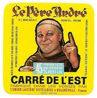ETIQU.CARRE De L'EST MOINE ULV Bulgnéville Vosges - Cheese