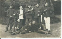 Postkaart Met Soldaten Verstuurd Vanuit Brasschaat Polygone In Juni 1914 - Weltkrieg 1914-18