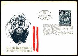Austria FDC 1963 Mi 1143 Christmas - FDC