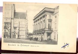 Cpa Tirlemont   Hotel De Ville - Tienen