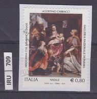 ITALIA REPUBBLICA     2014Natale 0,80 Usato - 2011-...: Used