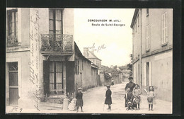 CPA Concourson, Route De Saint-Georges - Unclassified