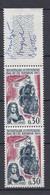 N° 1461 Tricentenaire Du Repeuplement De L'Ile Bourbon: Belle Paire De 2  Timbres Neuf Impeccable Sans Charnière - Unused Stamps