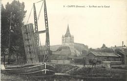 CAPPY - LE PONT SUR LE CANAL - Otros Municipios