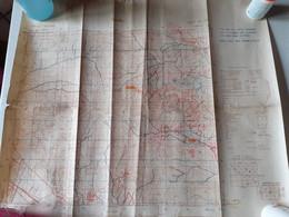 Carte Militaire De L Italie Ww2 - Carte Geographique