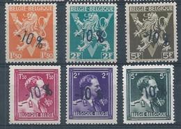 724 KLM + NOP **       Cote 33.00 - 1946 -10%