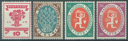 REICH - MNH/*** LUXE - 1919 -  Mi 107-110 Yv 106-109 - Lot 23541 - Unused Stamps